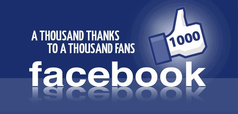 Máme 1000 fanoušků
